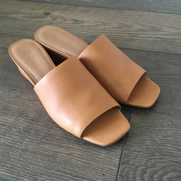 Madewell The Stacey Wedge Mule